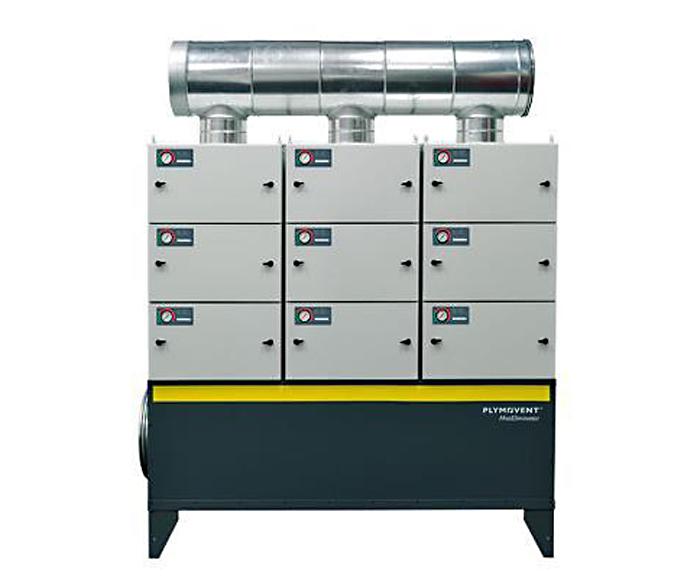 MistEliminator modular oil-mist removal filter system