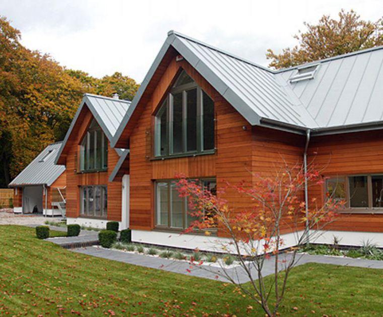 Zinc Roof For House In Farnham Rheinzink Esi Building Design