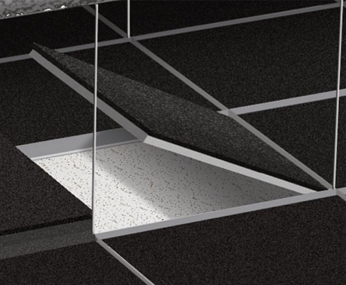 Soundblocker Acoustic Tiles For Suspended Ceilings Sound Reduction Systems Esi Building Design