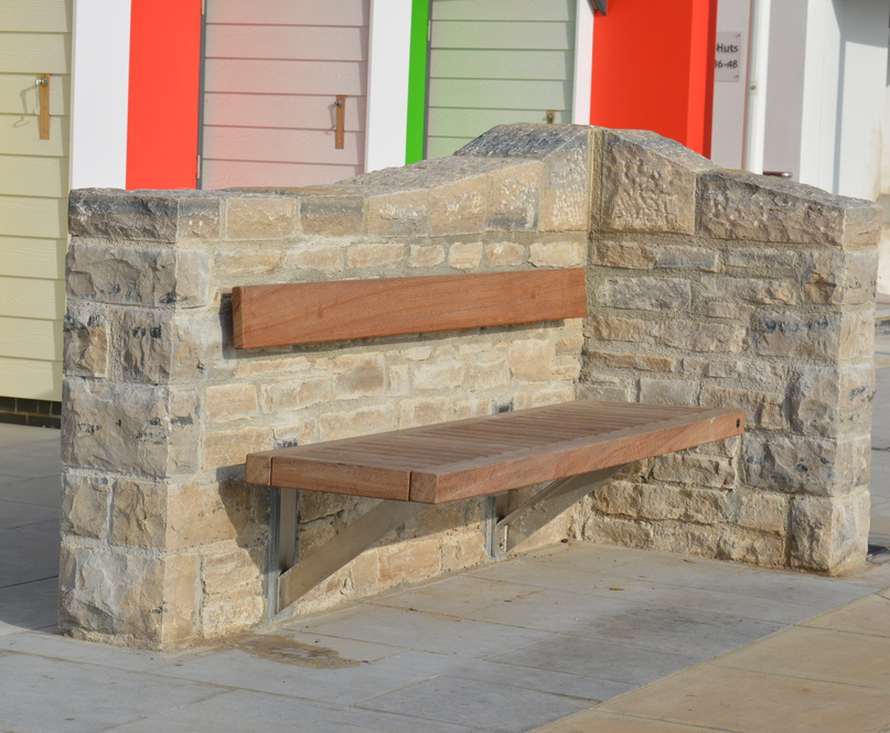 Wall-mounted seats and benches | Street Design | ESI External Works