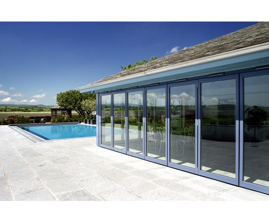 SFK82 composite bi-folding door system | Sunfold Systems | ESI ...