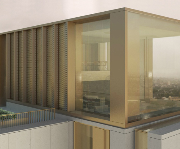 UFH acoustic flooring - iconic residential tower refurb