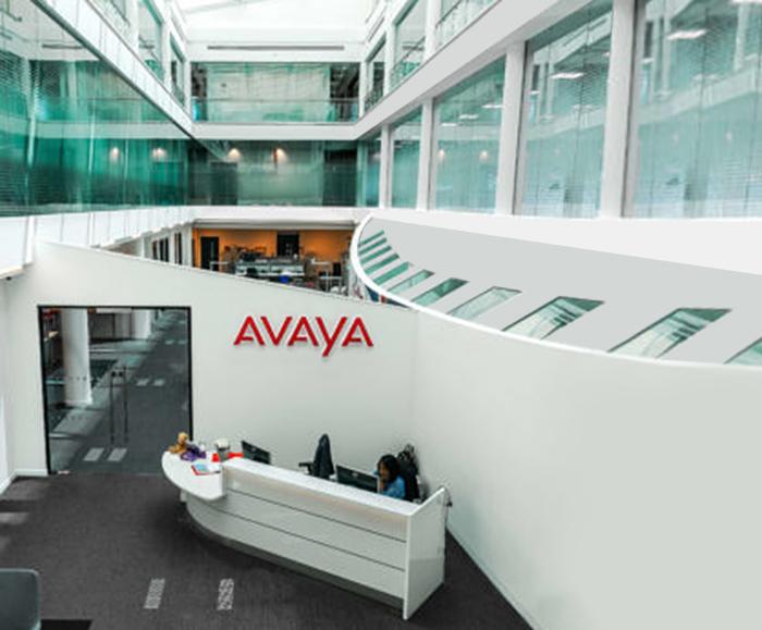 Underfloor air con system cools office atrium areas