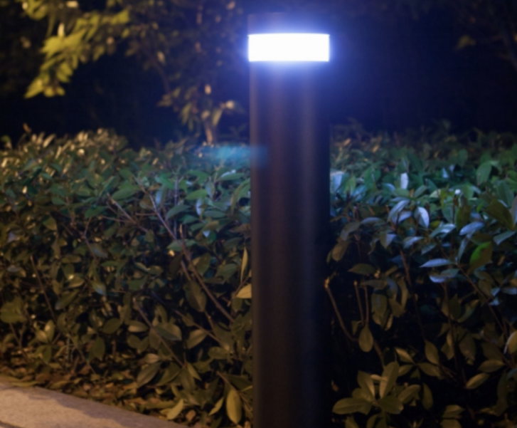 Vio Solar off-grid illuminated pathway bollard | Acrospire Products
