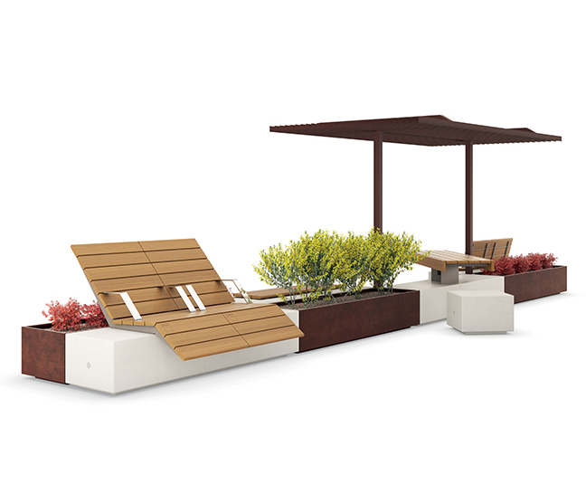 Alterego Outdoor Furniture Collection Artform Urban Furniture