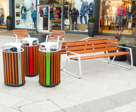 Dalton Retail Outlet Park Artform Urban Furniture Esi External Works