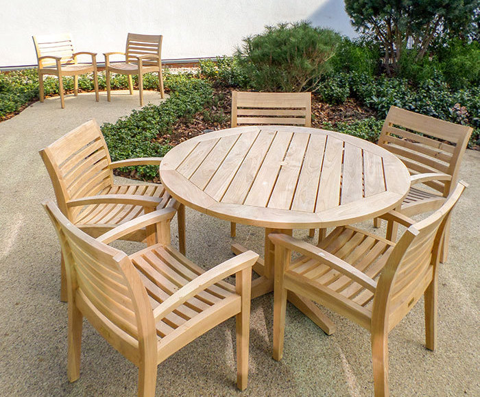 Terrific Outdoor Timber Furniture For Cancer Treatment Centre Gamerscity Chair Design For Home Gamerscityorg
