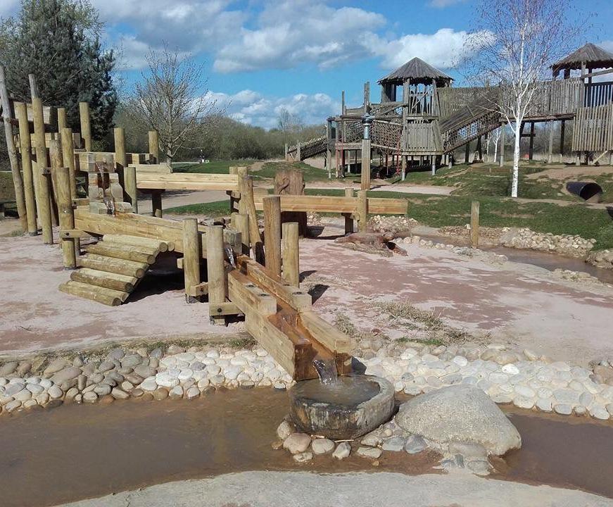 Refurbishment of play space at Stanwick Lakes