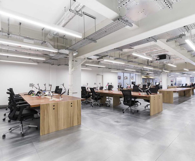 Bespoke office workbenches and tables – VisualDNA