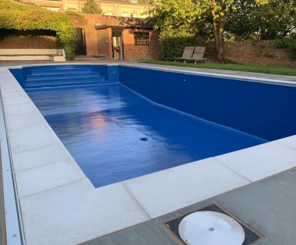 Fibreglass lining for swimming pool refurbishment | Lining ...