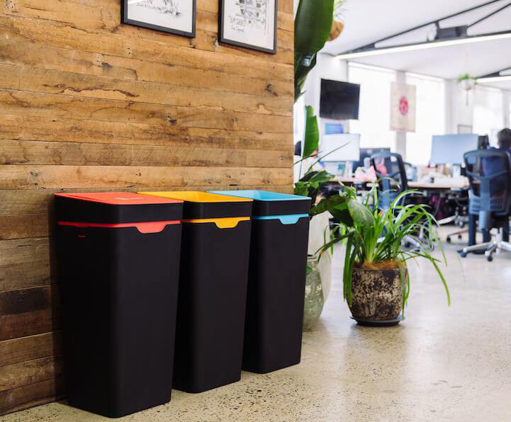 Scalable indoor recycling solution for Canva offices