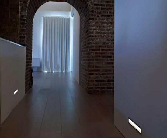 Femtoline Recessed Interior And Exterior Wall Luminaires Deltalight Esi Interior Design