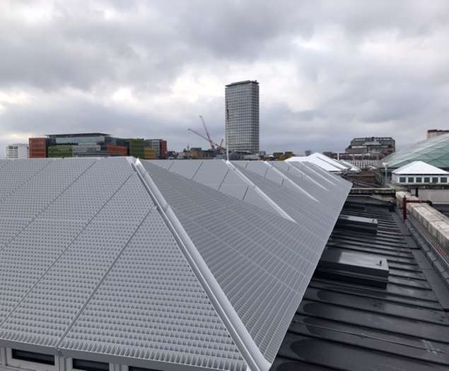 Ladder access roof hatches for new museum gallery