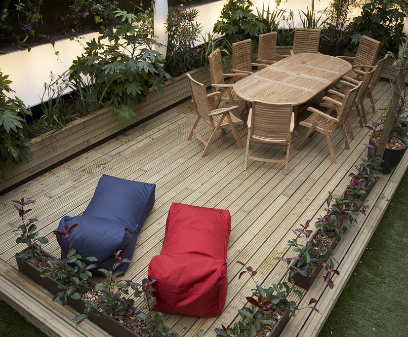 Chill Out Area decking for garden chill-out area - hell's kitchen | hoppings