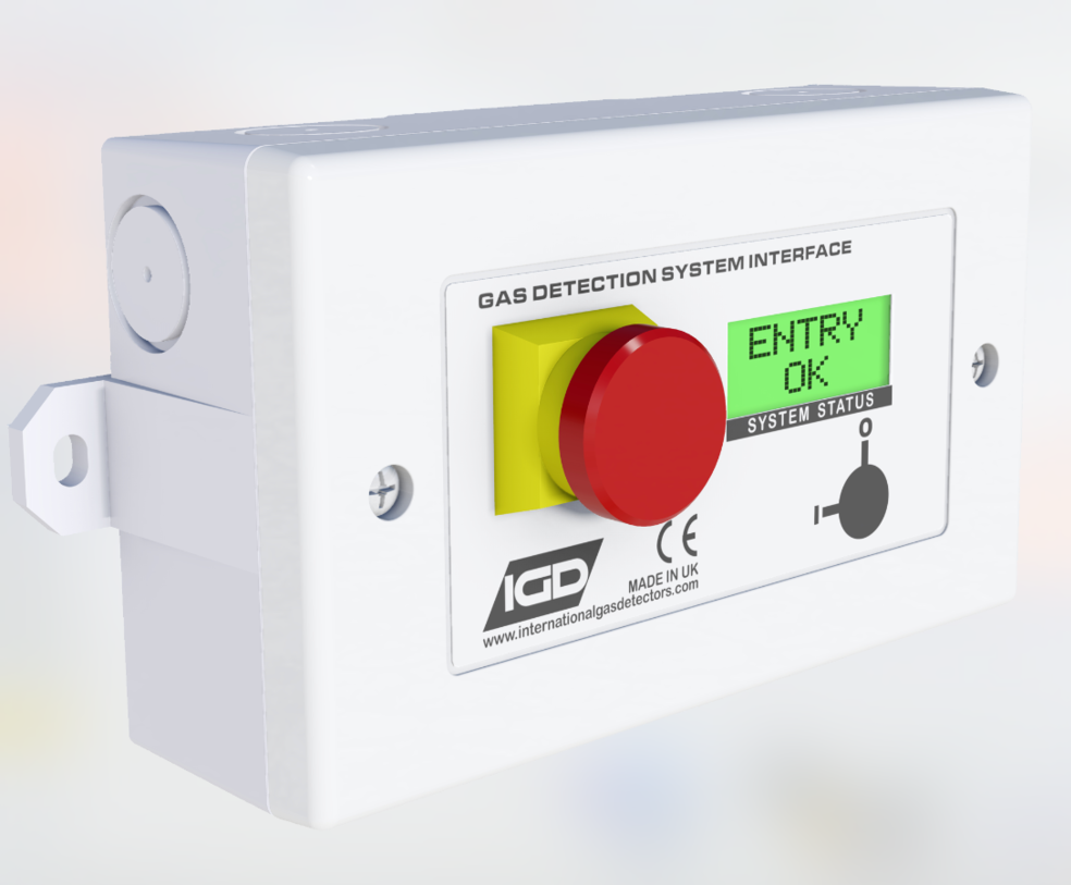 2-wire addressable gas detection room status indicator