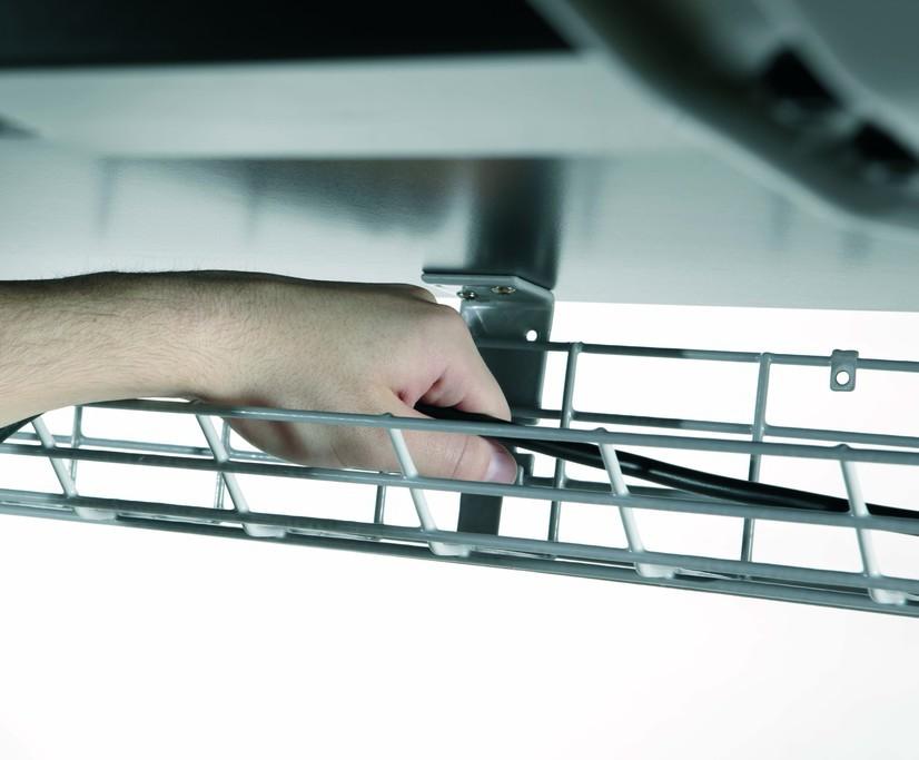 Fusion Under Desk Office Cable Basket | CMD Ltd | ESI Building Services
