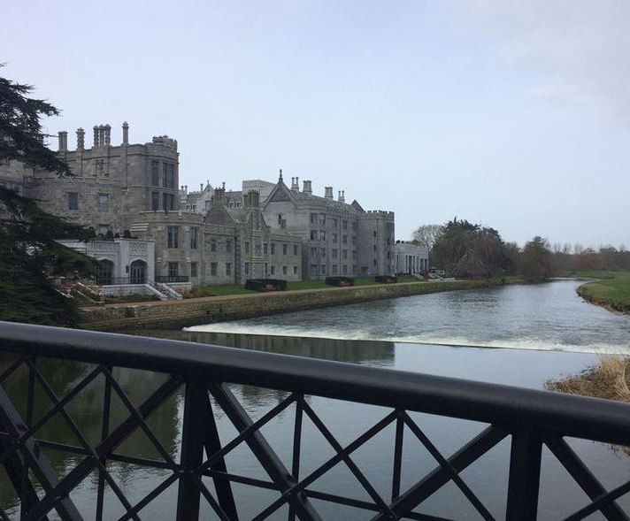 Custom drainage channels for Adare Manor & Golf Resort