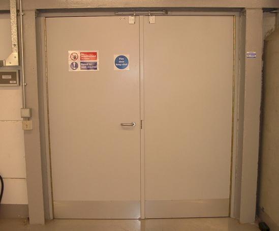 Composite fire-resistant hinged steel doors & Composite fire-resistant hinged steel doors | Bolton Gate Company ...