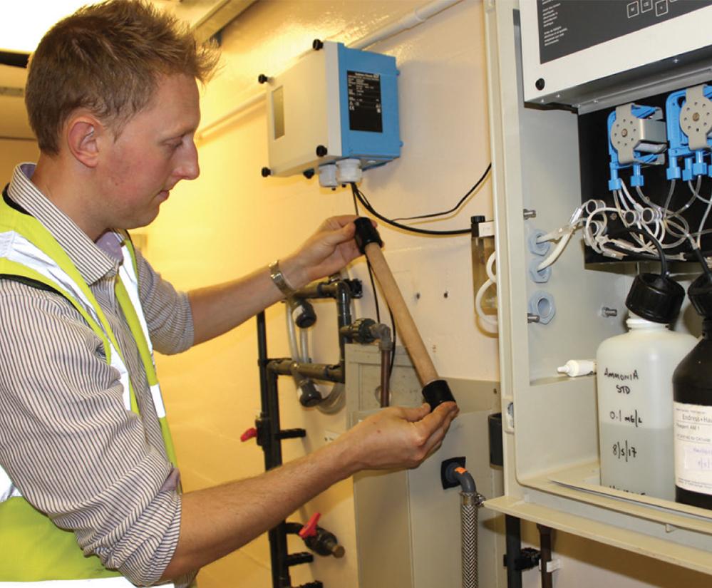 Ceramic filter enables reliable ammonia measurement
