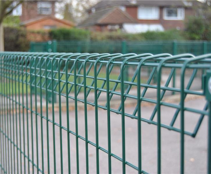 Apollo Rolled Top mesh fencing system | Heras UK | ESI External Works