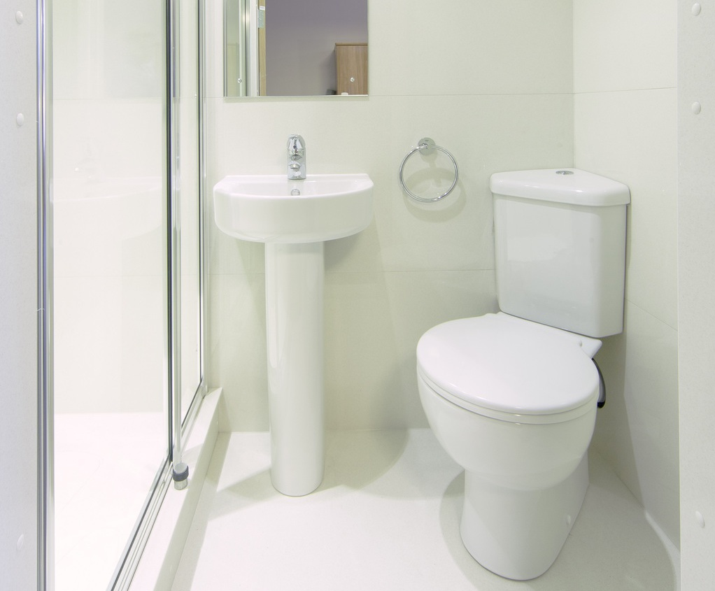 Bathroom pods for student accommodation refurbishment | Taplanes ...