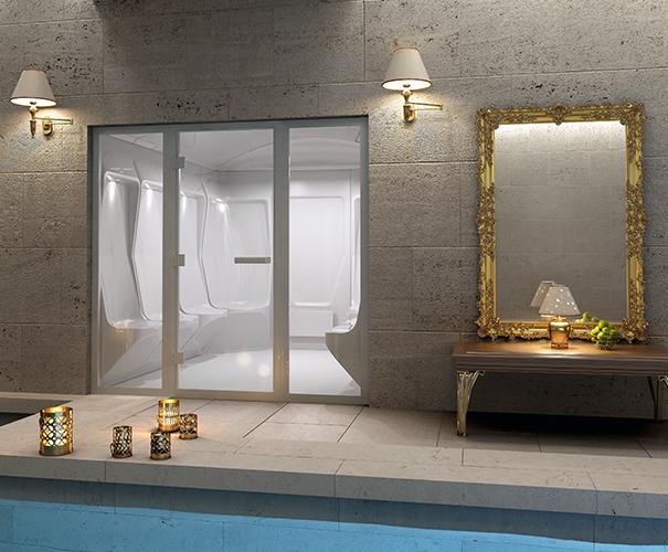 Tylo Elysee luxurious steam room