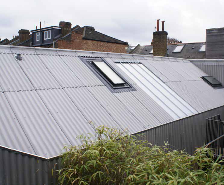 Roof cladding materials and roofing insulated