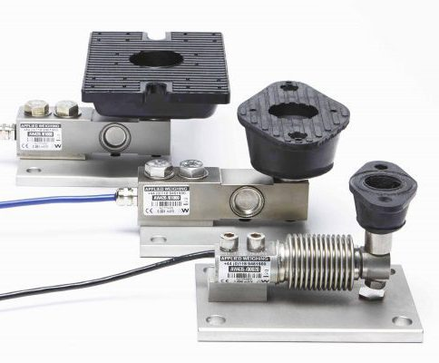 Compact weighing assembly