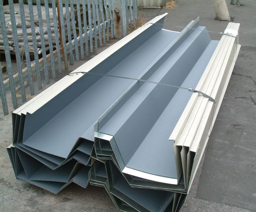 Raintite composite gutter | Euroclad | ESI Building Design
