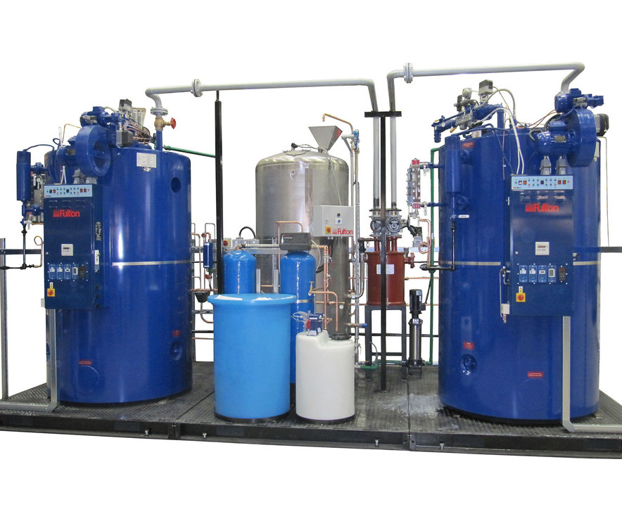 Steam boilers to sterilise surgical hospital equipment | Fulton ...