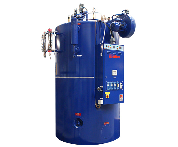 J Series vertical fuel-fired steam boiler | Fulton | ESI Building ...