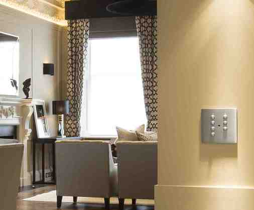 Hamilton Litestat - Quality, exclusive lighting controls, Belgravia property