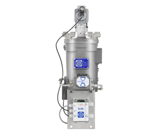 Bollfilter 6 04 automatic backflush water filter