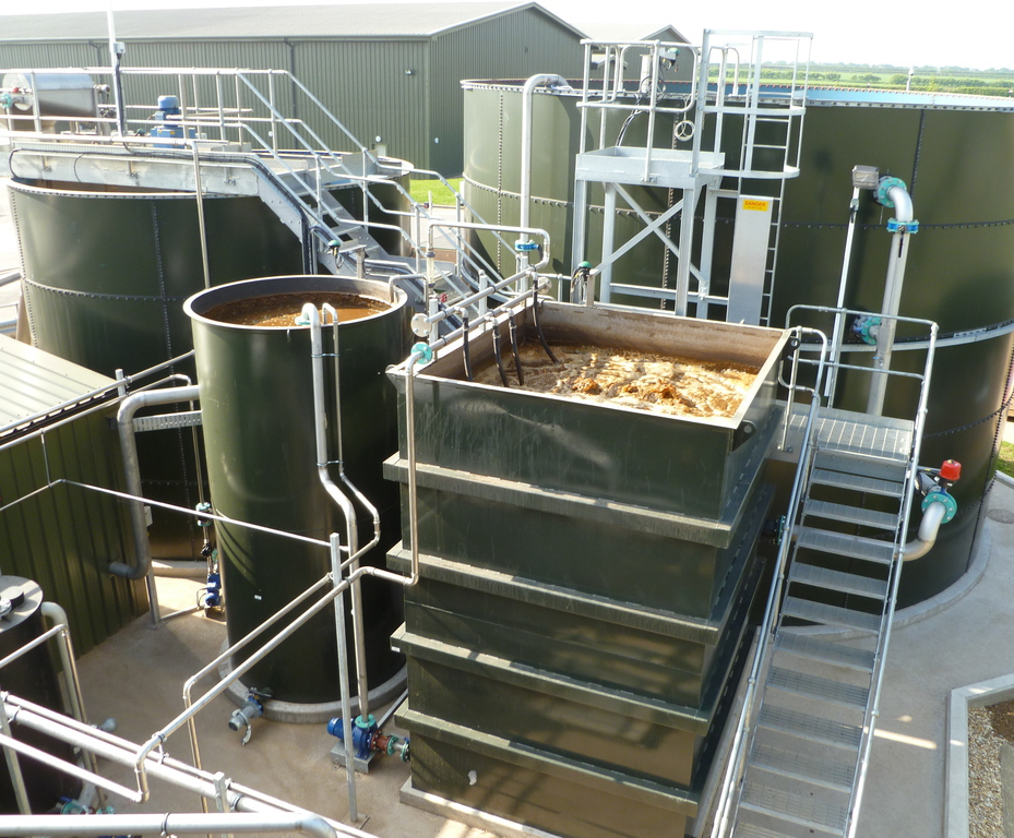 Waste water recycling at potato processing plants | MSE