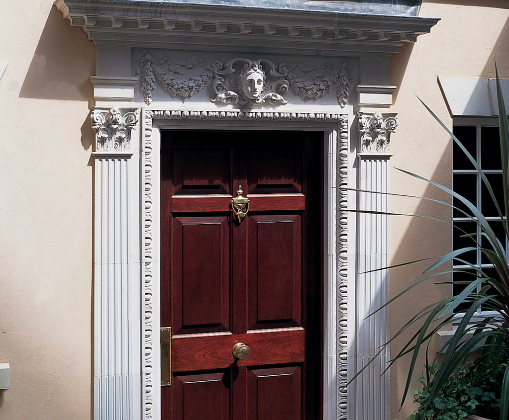 William Kent Door Surround Without Pediment