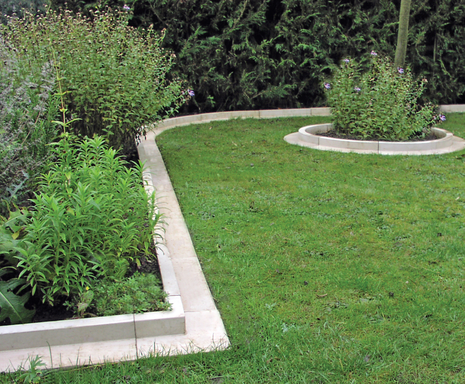arcadian lawn and paving edging cast stone haddonstone esi