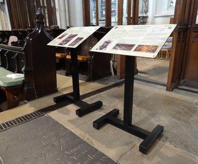 Mobile interpretation lecterns for church