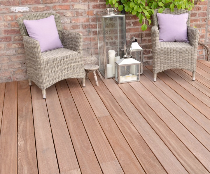Yellow Balau Hardwood Decking Silva Timber Esi External Works