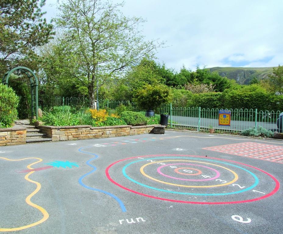 refurbishment of primary school playground in cumbria sovereign