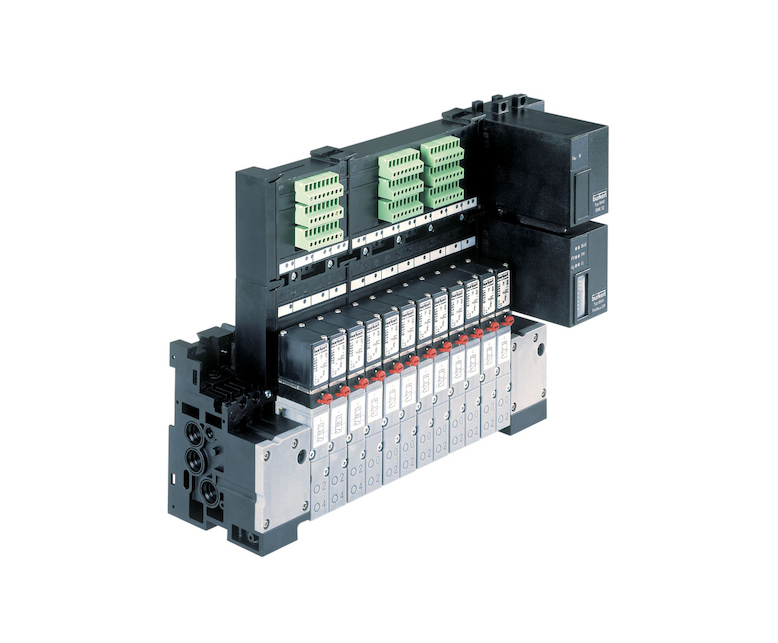 Type 8640 AirLINE Quick pneumatic valve automation unit