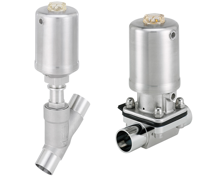 New networkable hygienic valve actuators from Bürkert | Bürkert