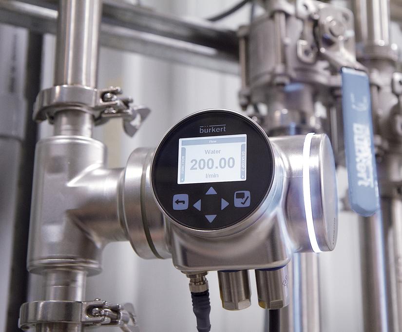 FLOWave inline flowmeter for hygienic applications