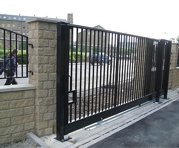 tg1000 groundtrack automatic sliding gate avon barrier esi