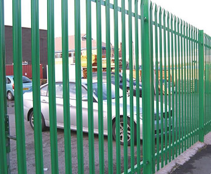 PALISADE - steel palisade high security fencing | Barkers Fencing ...