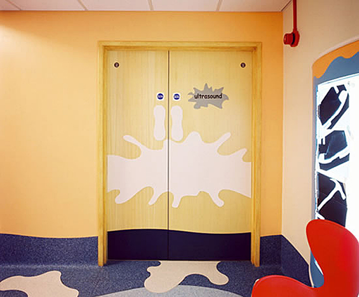 Acrovyn® custom-shaped door protection & CS Acrovyn® door and frame protection   Construction Specialties ...