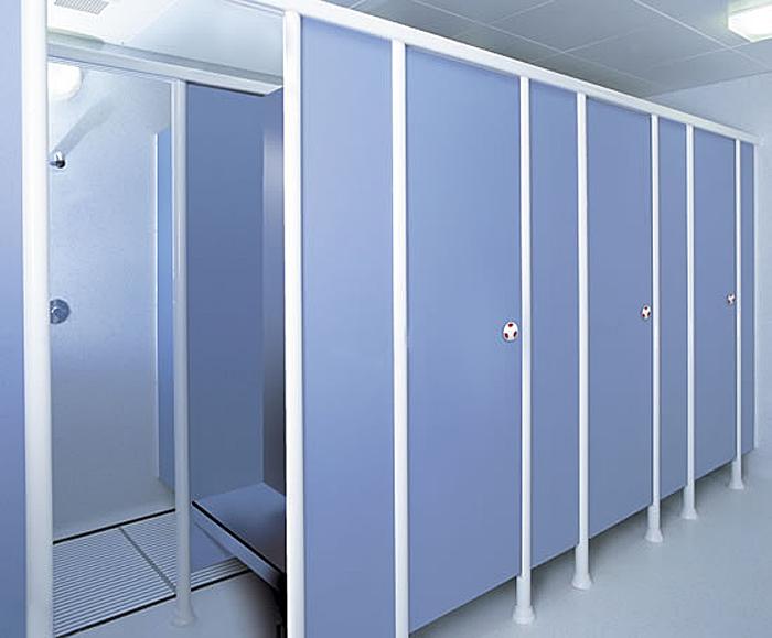 Formica® Washroom Collection of high pressure laminates