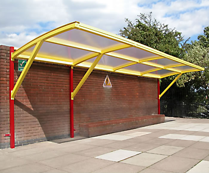 Signhills cantilever canopy & Signhills wall-mounted cantilever canopy | Lockit-Safe | ESI ...