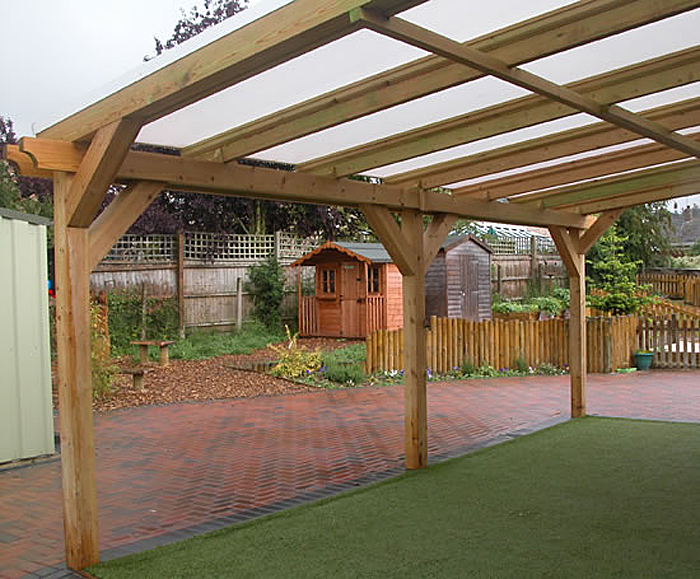 Stanion wooden canopy : timber canopies - memphite.com