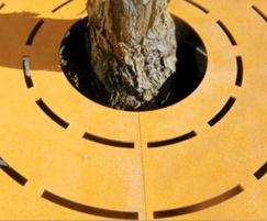 CorTen Tree Grid