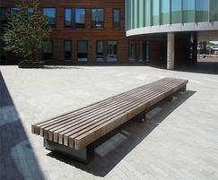 Rough ready 10 benches streetlife esi external works - Rough and ready furniture ...
